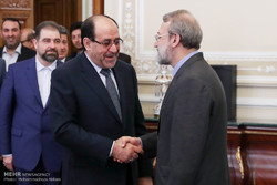 Larijani meets with Iraqi VP