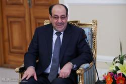 دیدار نوری المالکی با رئیس مجلس شورای اسلامی