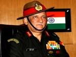 ہندوستانی فوج کے نئے سربراہ کشمیر پہنچ گئے