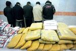 انهدام باند قاچاق و کشف ۷۲۶ کیلو تریاک در خراسان رضوی