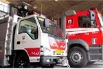 مصدومیت یک نفر در حادثه واژگونی پراید/ آتش سوزی خانه با پیک نیک