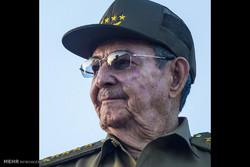 ادای احترام به کاسترو در کوبا