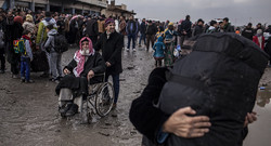 Over 13k Iraqis flee Mosul in last 5 days as fighting intensifies