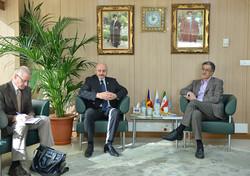 دیدار سفیر چک با رئیس اتاق تهران