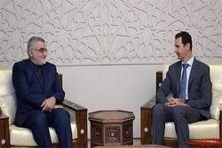 علاءالدین بروجردی با بشار اسد دیدار کرد