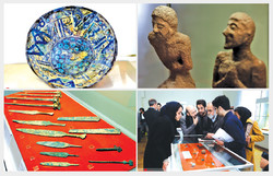 Tehran museum puts on show newly recuperated relics