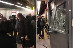 خروج قطار شهری نیویورک از ریل ۱۰۰ زخمی برجای گذاشت