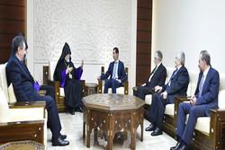 سراسقف «آرام اول کشیشیان» با «بشار اسد»