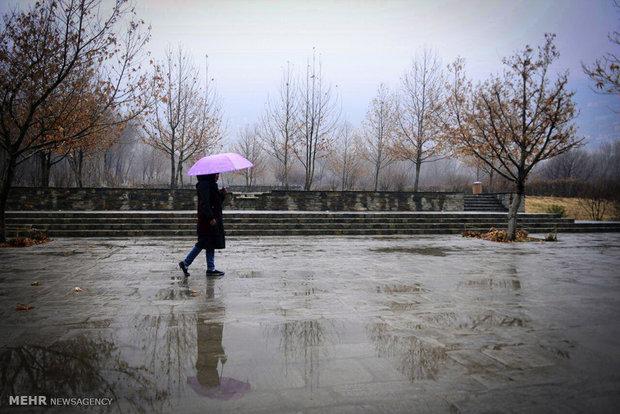 یک روز بارانی در کابل