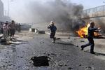 مقتل واصابة العشرات في تفجير إرهابي جنوب بغداد