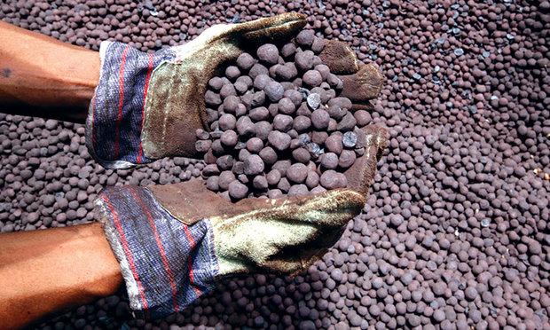 تولید کنسانتره سنگ آهن ۲۲درصد افزایش یافت