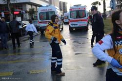 فیلم/لحظه کشته شدن پلیس ترکیهای در شهر «ازمیر»