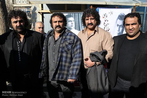 Legendary wrestler Takhti honored
