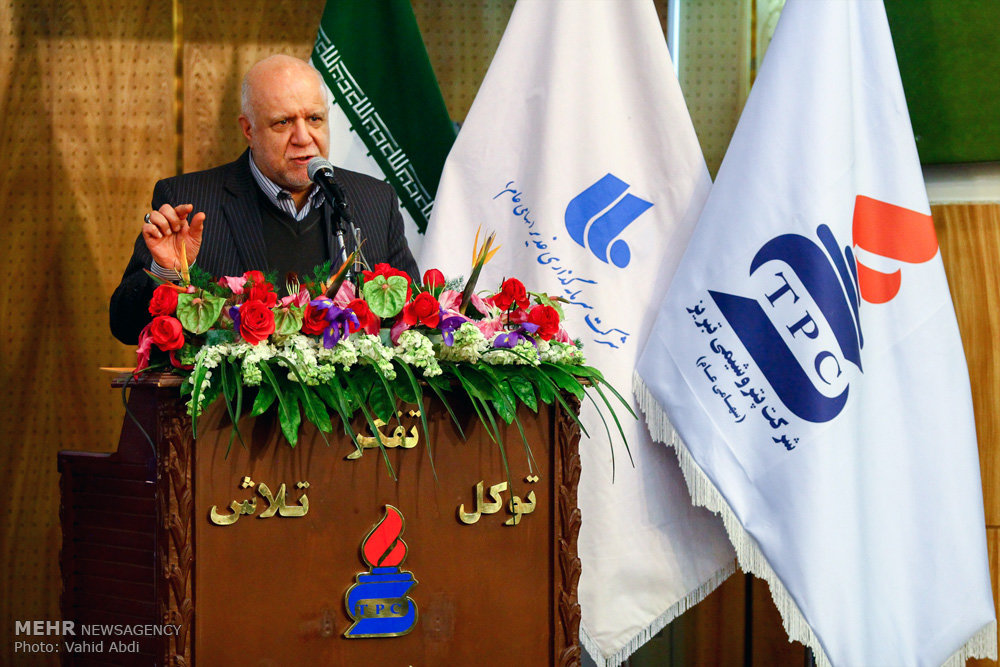 سفر بیژن نامدار زنگنه وزیر نفت به تبریز