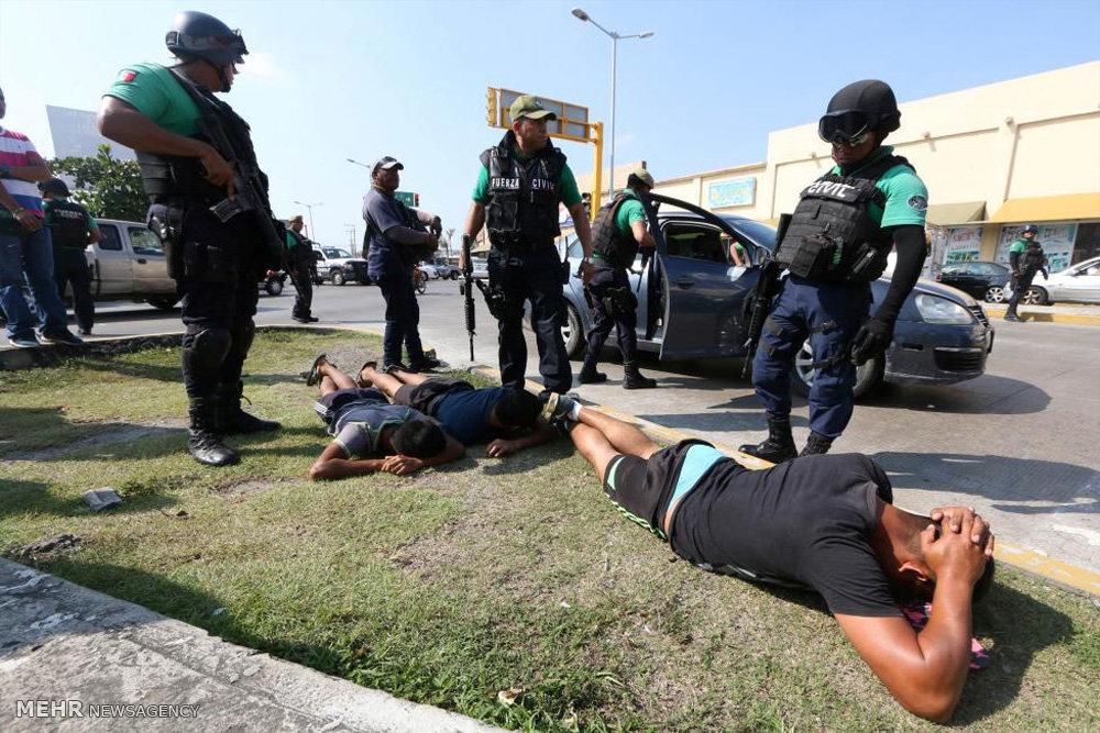 اعتراض به افزایش قیمت بنزین در مکزیک