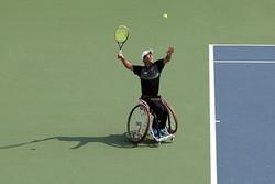 تنیس با ویلچر توانایی حضور در مسابقات بین المللی را دارد