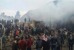 انفجار شهر اعزاز سوریه