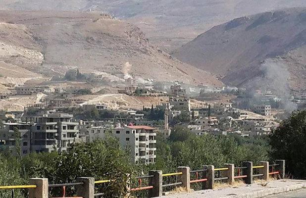 وادی بردی حومه دمشق
