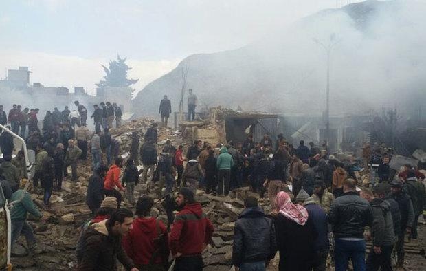 عشرات القتلى بتفجير مفخخة في مدينة أعزاز بريف حلب الشمالي