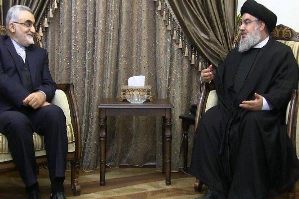 Nasrallah, Boroujerdi talk Syria, regional issues