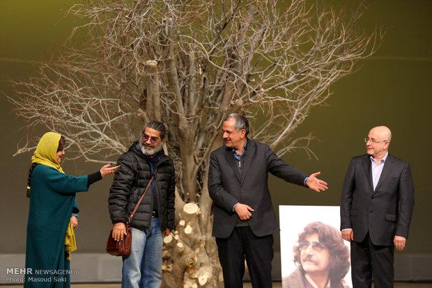 از راست: علی مرادخانی، احمد مسجدجامعی، میکائیل شهرستانی و پرستو گلستانی