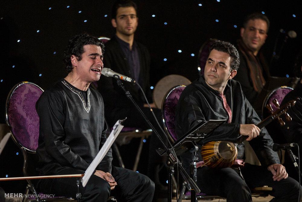 کنسرت موسیقی همایون شجریان در برازجان