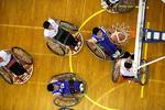 برگزاری رقابت هفته سوم لیگ برتر بسکتبال با ویلچر کشور در اراک