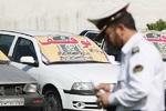 توقیف ۱۰ دستگاه خودرو به دلیل تخلفات حادثه ساز