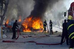 فیلم/ وقوع انفجار تروریستی در بغداد