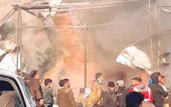 ارتفاع تفجير  شرق بغداد  الى 22 قتيلاً وجريحاً