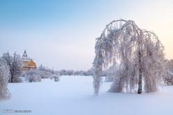 موسم سرما میں قدرتی مناظر کی خوبصورت تصویروں کی جھلکیاں
