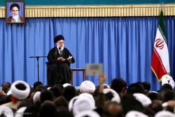 دیدار مردم قم با حضرت آیت الله خامنه ای رهبر معظم انقلاب اسلامی