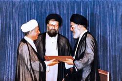 صور من شريط الذاكرة لآية الله هاشمي رفسنجاني