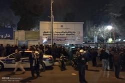"""اجواء مستشفى """"تجريش"""" بطهران عقب انتشار خبر وفاة هاشمي رفسنجاني"""