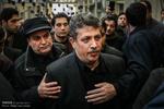 حضور مقامات کشوری در حسینیه جماران.