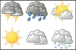 احتمال بارش باران و کاهش دمای هوا در آذربایجان شرقی