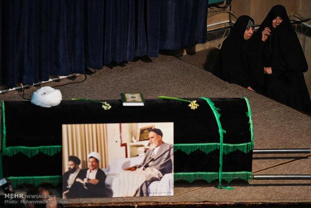 مراسم وداع با پیکر آیت الله هاشمی رفسنجانی