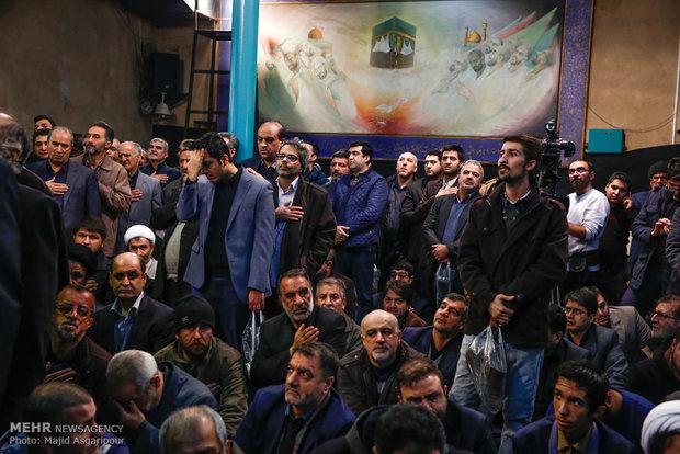 Ayat. Hashemi's farewell ceremony