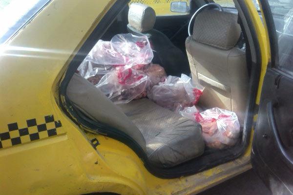 دستفروشان فرآورده های خام دامی از بازار قزوین جمع آوری شدند