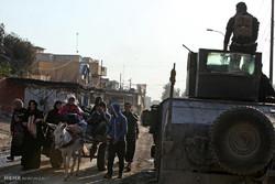 القوات العراقية تعلن تحرير حياً ومنطقة باب الشمس بأيسر الموصل