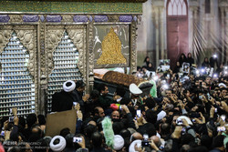 Ayetullah Haşimi'nin cenaze töreni yapıldı