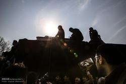 شوارع طهران في مراسم تشييع الراحل آية الله هاشمي رفسنجاني/صور