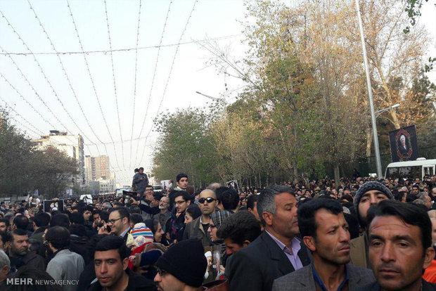 Ayetullah Haşimi Rafsancani'nin cenaze töreni