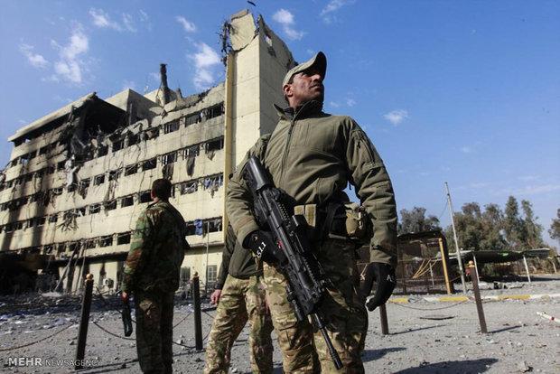 تحرير مبنى محافظة نينوى ودوائر حكومية أخرى من قبضة عصابات داعش