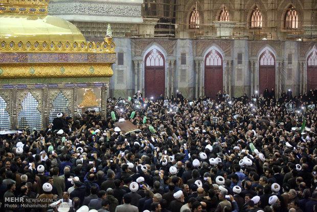 مراسم تدفین آیت الله هاشمی رفسنجانی
