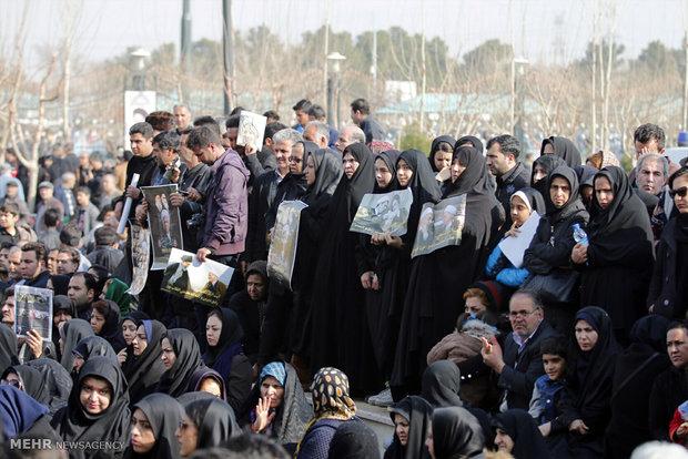 Fotoğraflarla Ayetullah Haşimi'nin son yolculuğu