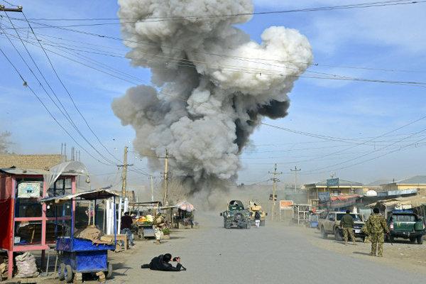 انفجار در کابل افغانستان