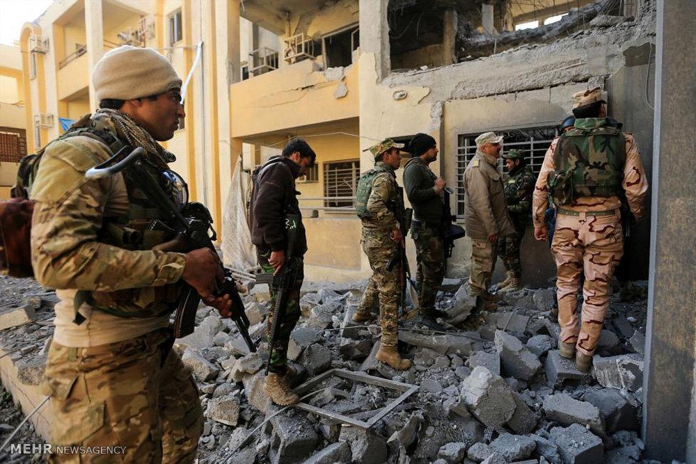 نبرد نیروهای عراقی در موصل