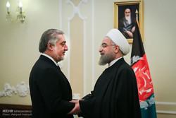 Pres. Rouhani, Afghanistan CEO meet