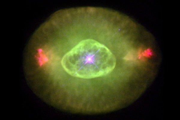 نور کهکشان های اولیه سبز بوده است